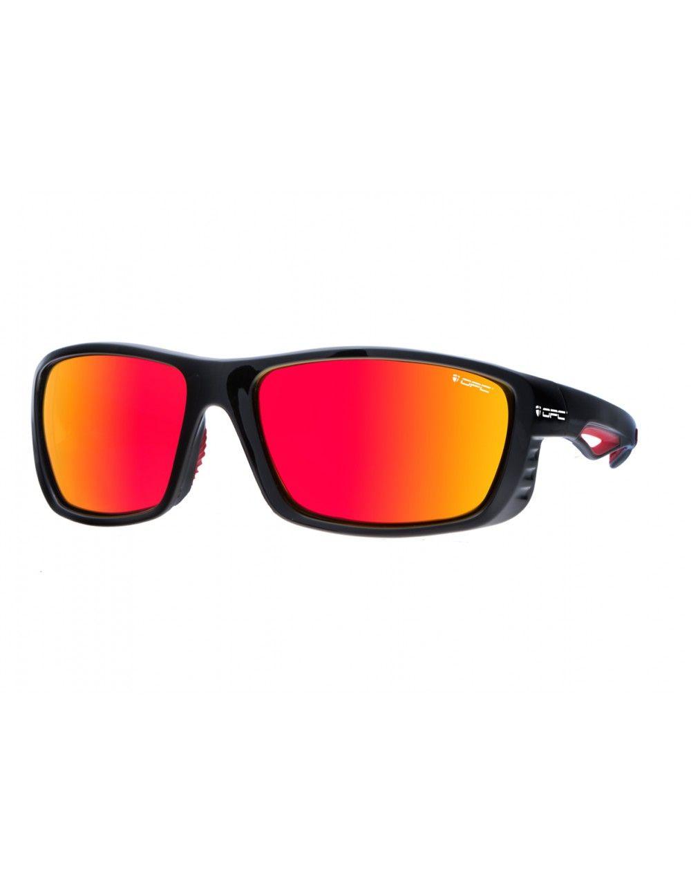 Okulary PRO SPORT EVEREST Black Red REVO