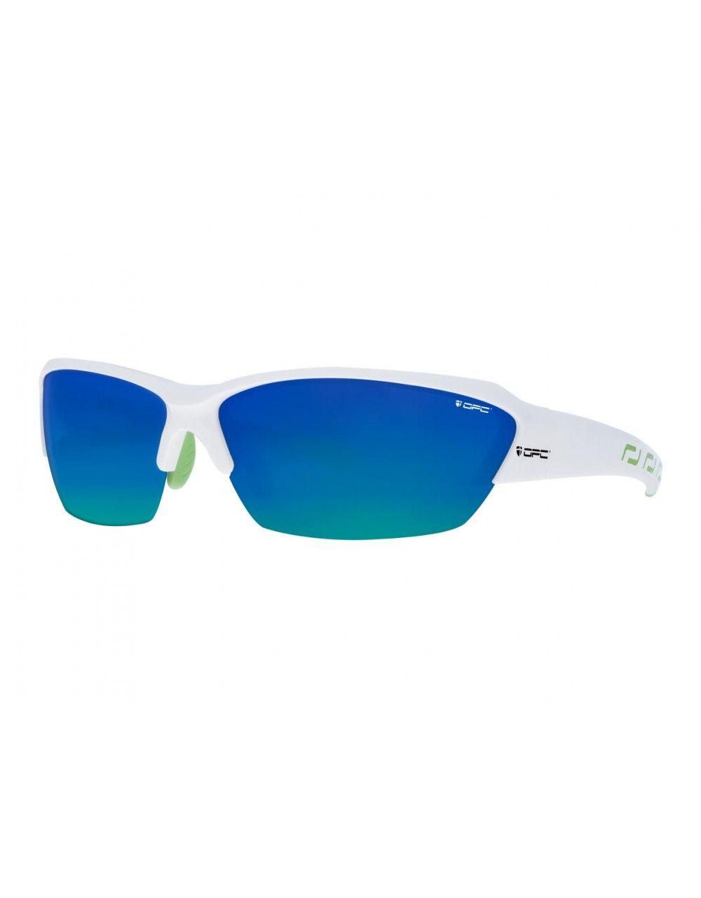 Okulary BIKE STELVIO White Blue REVO